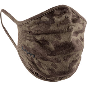 UYN Community Maska, camouflage brown